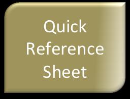 quick ref sheet